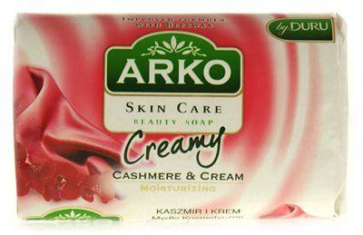 Arko Creamy Mydło w kostce kaszmir i krem 90 g