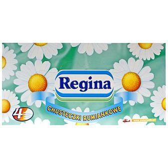 Regina Chusteczki higieniczne rumiankowe kartonik 110 szt.