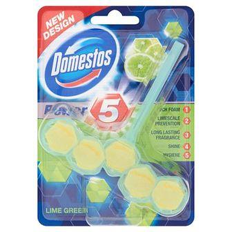 Domestos Power 5 Koszyk do WC Lime Green 55 g