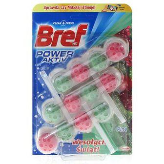 Bref Power Active Kulki do WC Pine 3 x 50 g