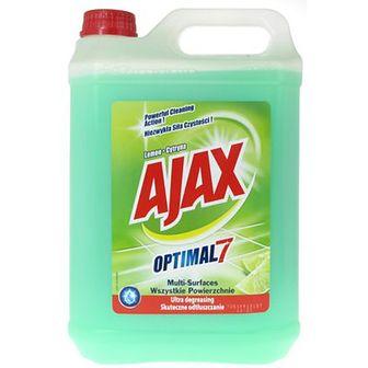 Ajax Optimal 7 Płyn uniwersalny Cytryna 5 L