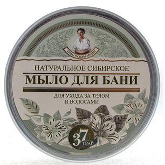 Babuszka Agafia Naturalne ziołowe mydło Czarne 500 ml