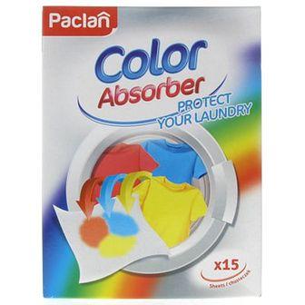 Paclan Color Absorber Ściereczka do prania 15 szt.
