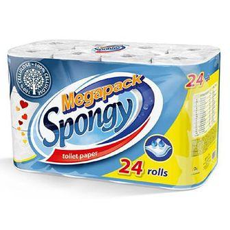 Almusso Megapack Spongy Papier toaletowy 24 szt.