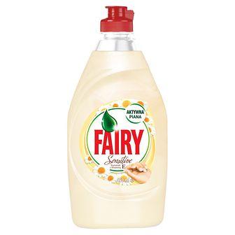 Fairy Płyn do mycia naczyń Sensitive Rumianek z Witaminą E 450 ml