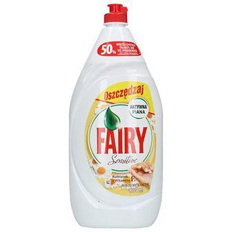 Fairy Płyn do mycia naczyń Rumianek z witaminą E 1,35 L