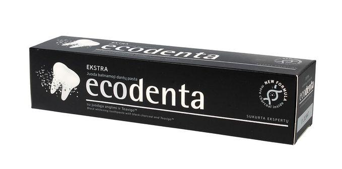 Ecodenta Wybielająca pasta do zębów Czarny węgiel 100 ml