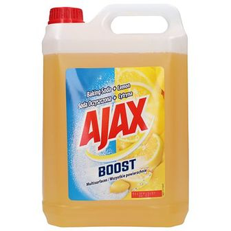 Ajax Boost Płyn uniwersalny Soda Cytryna 5 L