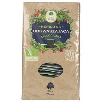 Dary Natury Herbatka odkwaszająca Ekologiczna 25 x 2 g