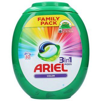 Ariel 3w1 Kapsułki do prania do kolorowego 80 szt.
