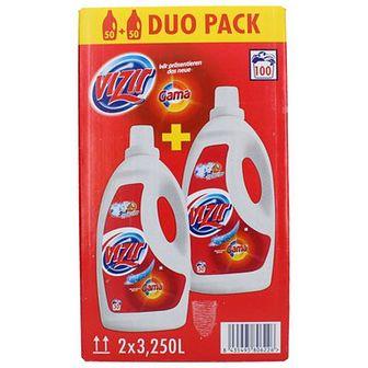 Vizir Gama Duopack Żel do prania do białego i do koloru 2 x 3,25 L