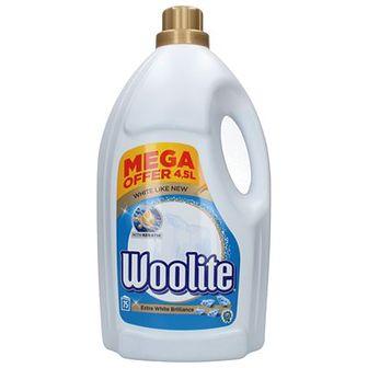 Woolite Płyn do prania białych tkanin 75 prań 4,5 L