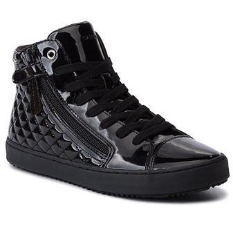 Sneakersy GEOX - J Kalispera G. D J944GD 000HH C9999 D Black