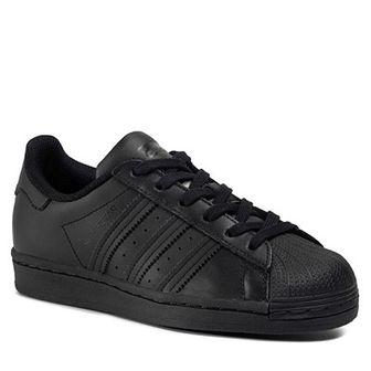 Buty adidas - Superstar J FU7713 Cblack/Cblack/Cblack
