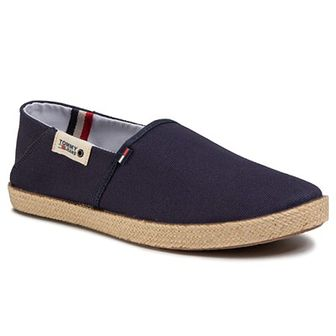 Espadryle TOMMY JEANS - Summer Shoe EM0EM00423 Twilight Navy C87