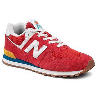 Sneakersy NEW BALANCE - GC574HA2 Czerwony