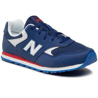 Sneakersy NEW BALANCE - YC393BNV Granatowy