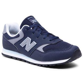 Sneakersy NEW BALANCE - YC393CBK  Granatowy