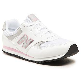 Sneakersy NEW BALANCE - YC393CWP Biały