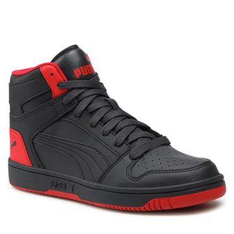 Sneakersy PUMA - Rebound Layup Sl Jr 370486 16 Ph Black/Ph Black/Urban Red