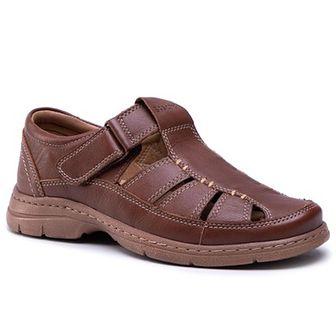 Sandały GO SOFT - MI20-BONDY-02 Dark Brown