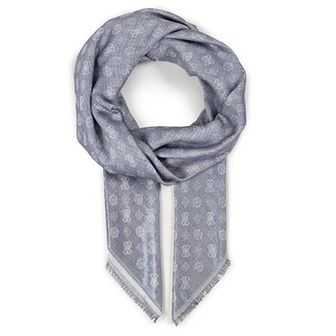 Chusta GUESS - Not Coordinated Scarves AW8412 VIS03 BLU