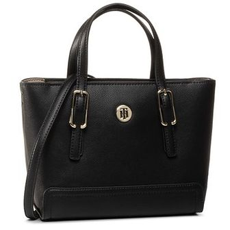 Torebka TOMMY HILFIGER - Honey Small Tote AW0AW07932 BDS