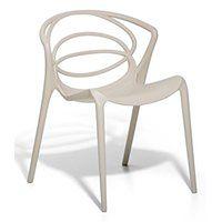 Krzesło do jadalni beżowe BEND