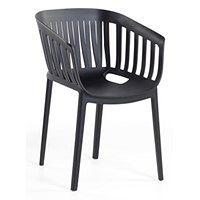 Krzesło do jadani czarne DALLAS