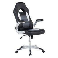 Krzesło biurowe czarne regulowana wysokość DEAN
