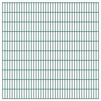 vidaXL Panel ogrodzeniowy 2008x2030 mm, zielony