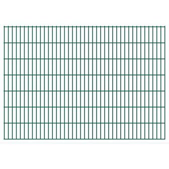 vidaXL 2D Panele ogrodzeniowe 2008x1430 mm 16 m zielone