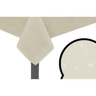 vidaXL Obrusy 5 szt. krem 190x130 cm