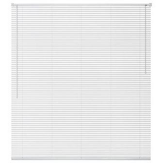 vidaXL Żaluzja aluminiowa, biała 140x220 cm