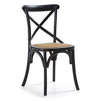 Krzesło Silea czarne