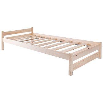 Łóżko drewniane Toronto 90x200 sosnowe lakierowane