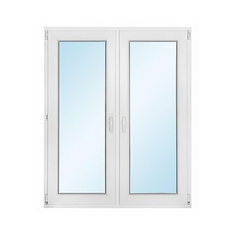 Okno PVC symetryczne