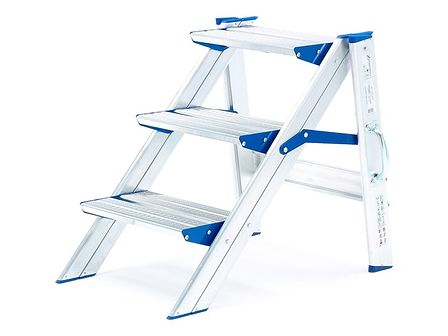 Stabilne schodki składane - 3 schodki