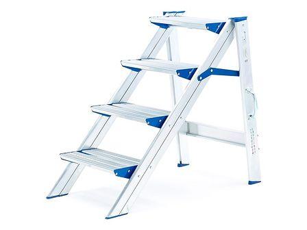 Stabilne schodki składane - 4 schodki