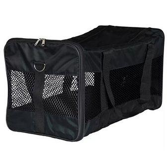 TRIXIE Transporter dla psa Ryan, poliester, 30x30x54 cm, czarny 28851