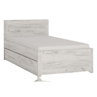 Łóżko 140 x 200 Typ 91 Angel Meble Wójcik Dąb White Craft