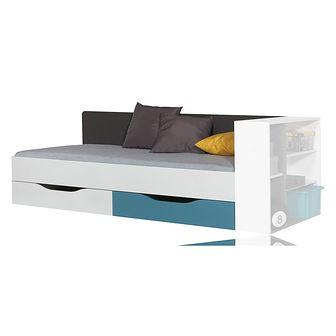 Łóżko 90 x 200 TA12A Tablo Meblar Biały Lux, Atlantic, Grafit