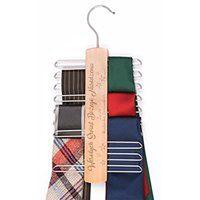 Personalizowany Wieszak na Krawaty Na Święta Gwiazdy