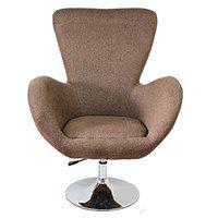 Fotel obrotowy Diana Brown Tkanina