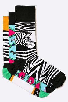 Soxy - Skarpety Zebras (3-pack)