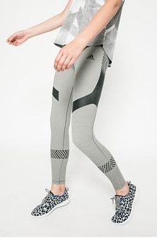 adidas Performance - Legginsy Ultimate Tights Core Heather