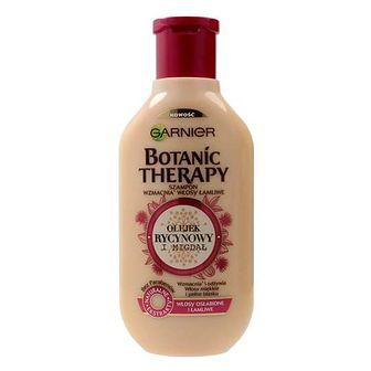 Garnier Botanic Therapy Olejek Rycynowy i Migdał szampon do włosów osłabionych i łamliwych 250 ml