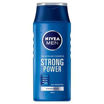 NIVEA MEN Strong Power Szampon wzmacniający 250 ml