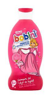 Bobini 3w1 Szampon żel i płyn do kąpieli Mała księżniczka 330 ml