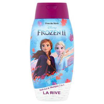 LA RIVE Disney Frozen 2 w 1 Łagodny szampon i płyn do kąpieli dla dzieci 250 ml